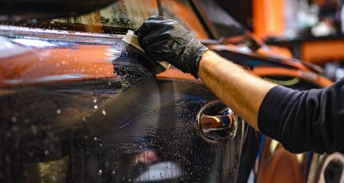 Nettoyage de voiture - Carrosserie Poude Roanne