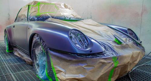 peinture auto - Carrosserie Poude